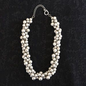 Silver Bubble Necklace